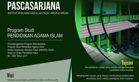 Program Pascasarjana Di INSTITUT KEISLAMAN ABDULLAH FAQIH (INKAFA) GRESIK