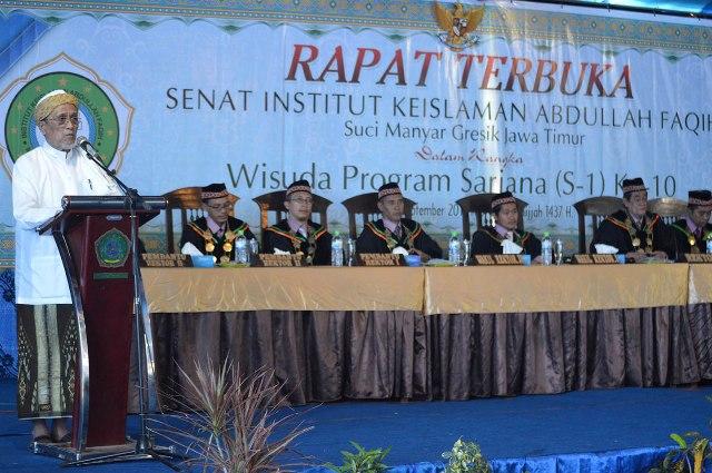 Wisuda ke-10 Tahun Akademik 2016-2017 Image